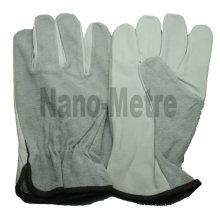 NMSAFETY gant pilote cuir de vachette grain de cuir