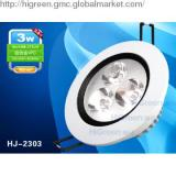 3W Special Embed LED Ceiling Lights