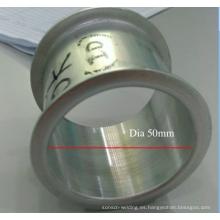 tubo de menor diámetro borde de borde de la máquina para tubo hueco de aluminio