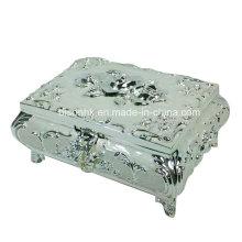 Metal Jewelry Keepsake Box