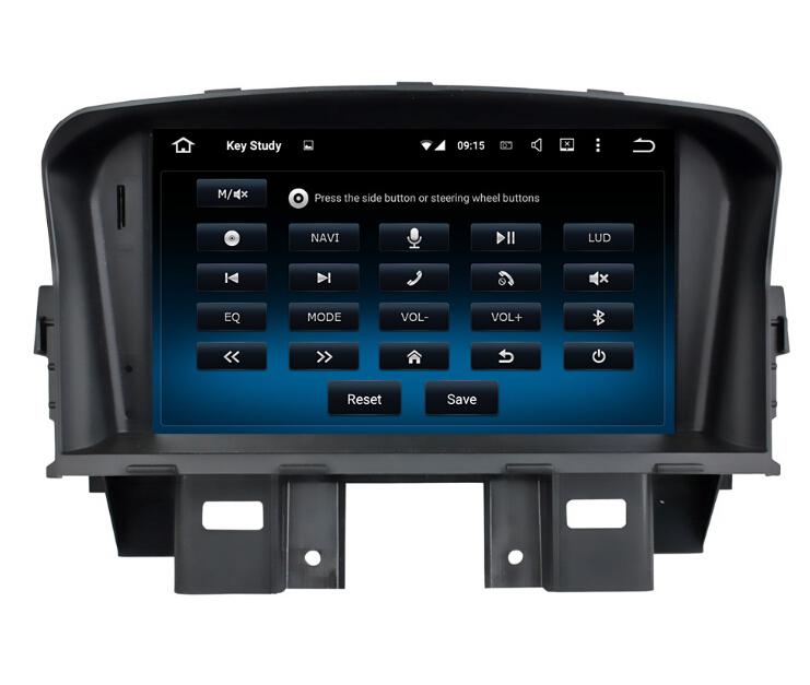 GPS Car Multimedia System For Chevrolet Cruze