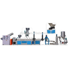Recycling line with Force Feeder