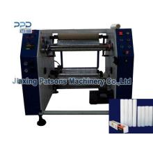 China Professional Manufacture Coreless Cling Film Winding Machinery