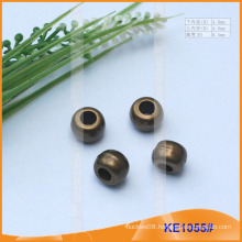 Fashion Plated Plastic cord end/bead for garments KE1055#