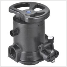 Válvula multi-puerto manual para suavizador de agua (MSU4)
