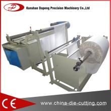 Máquina de corte de folha de plástico de PVC personalizada