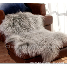 New Arrival for Faux Fur Throw Blanket Soft Mongolian Lamb Fur Blanket export to Uzbekistan Manufacturers