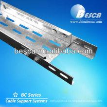 Fabricación de estantes de bandejas de cables eléctricos