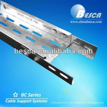 Fabricação da cremalheira da bandeja de cabo elétrico
