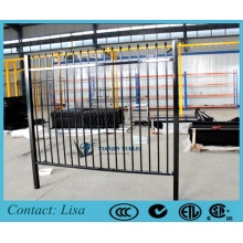 PVC Coated Pressed Spear Top Fencing