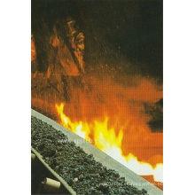 Cinta transportadora resistente al fuego para la mina de carbón