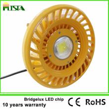 Lumière élevée de baie de la puissance élevée 100W LED pour des stations-service