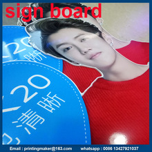 Sintra PVC Signboard with UV Flatbed Printing