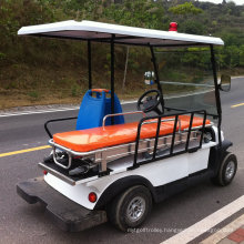 China 2 Seater Electric Hospital Ambulance Cart