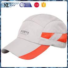 Nuevo producto de venta superior de poliéster de secado rápido casquillo de deporte de China al por mayor