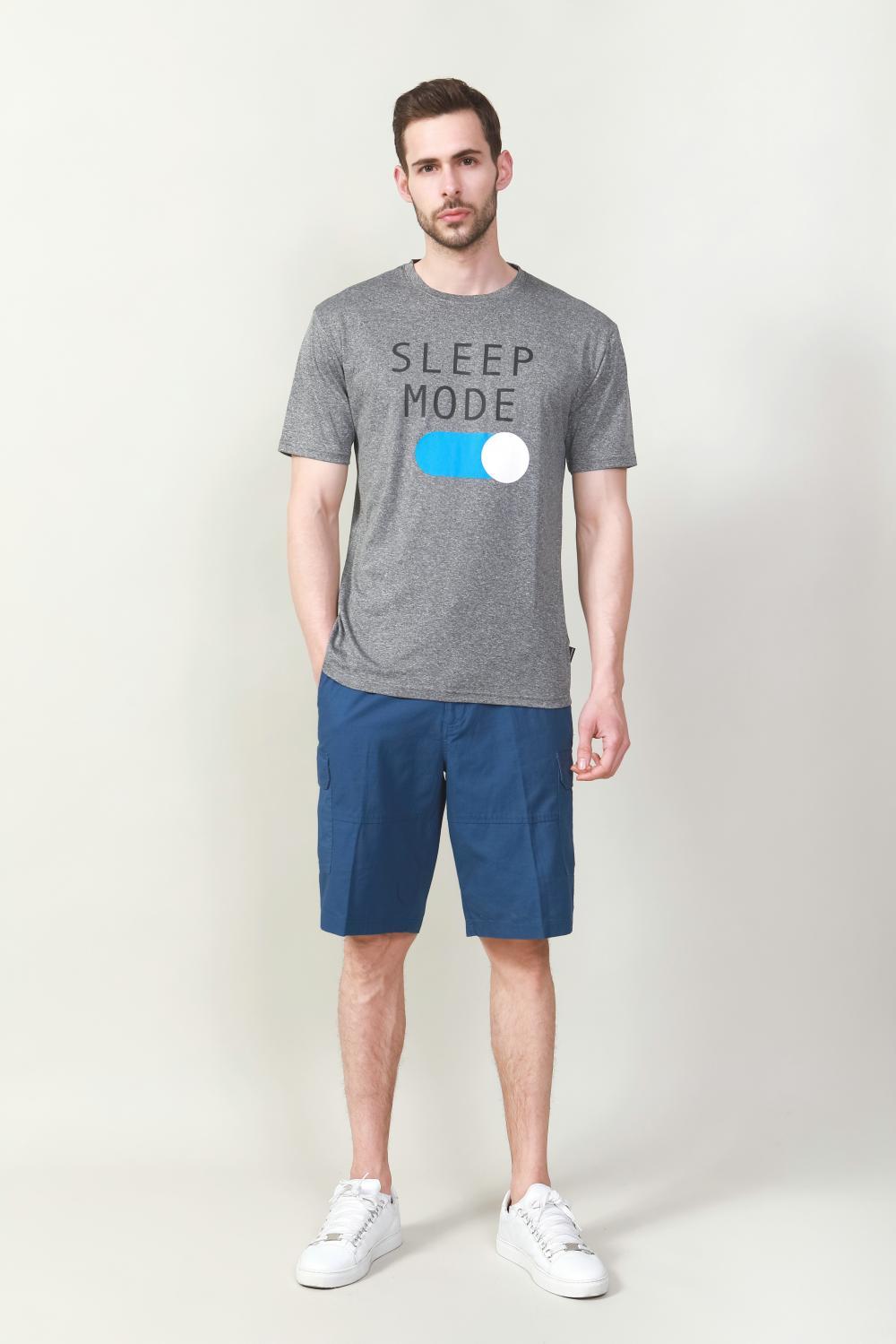 Men's chest print t-shirt