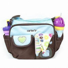 Diaper Bag, Made of Nylon and Polyester, Customized Designs are Accepted