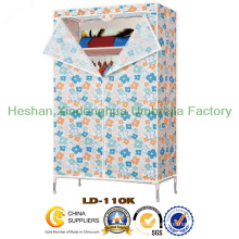 Folding PP Non Woven Fabric Metal Wardrobe (LD-110K-01)