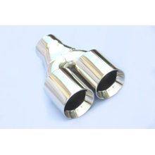 Dual Outlet Mengelas Pada Exhaust Tail Pipes