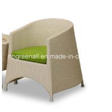 Chaise confortable chaise de café en plein air