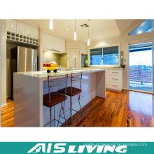 Mobília laminada melamined do armário da cozinha da madeira compensada (AIS-K371)