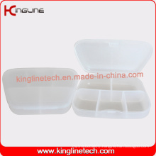Plastic 5-Cases Pill Box Manufacturer (KL-9114)