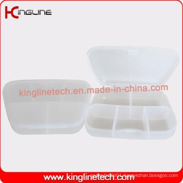 Plastic 5-Cases Pill Box Manufacturer (KL-9114)