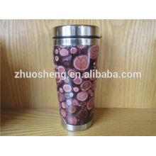 neues Design angepasst Lose kaufen aus China Edelstahl Keramik Kaffeebecher