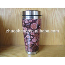 Новый дизайн настроены купить оптом из Китая из нержавеющей стали керамическая кружка кофе