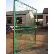PVC recubierto de doble lazo cerca para la esgrima