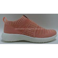 Женская мода Comfort Ladies flyknit Спортивная обувь Кроссовки