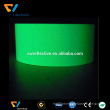 EN471 glow in the dark self adhesive fluorescent cloth reflective tape