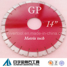 "Gp14""*25mm Granite/ Natural Stone Cutting Saw Blade"