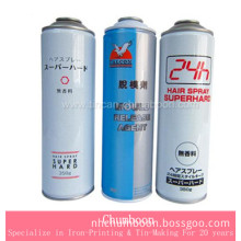 Empty Aerosol Can for Silicone Release Agent
