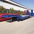 Portador modular da viga do reboque do caminhão hidráulico da cama baixa