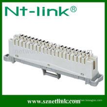 10 pares de desconexión y módulo krone de conexión
