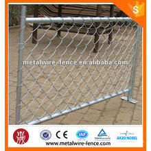 China used chain link temporary fence for sale