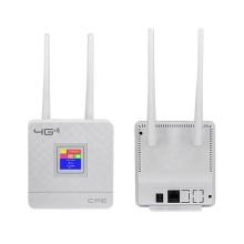 Factory Price Portable Hotspot Lte Wifi Router Wan/Lan Port Dual External Antennas Unlocked Wireless Cpe Router+ Sim Card Slot