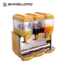 Fornecedor Single / Double / Triple Head 3 Compartimento Dispensador de limonada