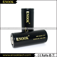 2017 New ENOOK 26650 5000mAh Battery