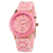 Silicone Fashion Children`s Intelligent waterproof Watch