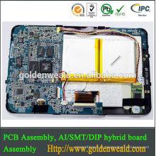 PCB da tabuleta PCB placa frente e verso do PWB do mineiro da placa do PWB