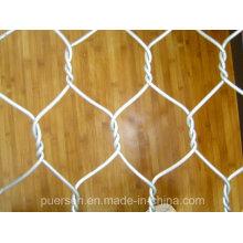 Malla de alambre hexagonal galvanizada de conejo de pollo