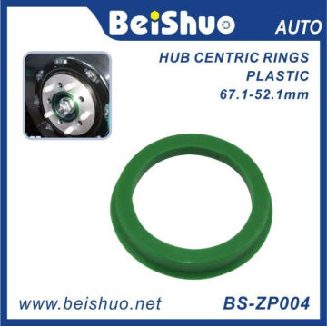 Machining Plastic Hub Centric Ring for Auto