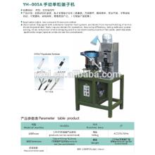 Plugue de alta precisão insere máquina de crimpagem terminal