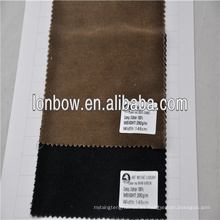 Tela 100% de terciopelo de algodón de alta calidad