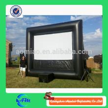 Quadro de avisos inflável, publicidade ao ar livre inflável, tela de filme de TV