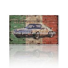 Nueva pintura del arte contemporáneo / reproducción de la pintura del coche / impresiones de encargo de la foto Dropship