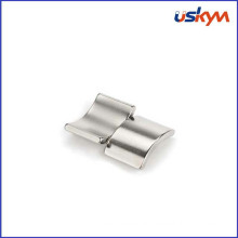 Small Permanent NdFeB Arc Magnets Custom High Power for Motor