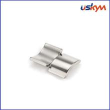 Малые постоянные магниты дуги NdFeB изготовленные на заказ высокая мощность для мотора